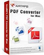 AnyMP4 PDF Converter for Mac Voucher Code Exclusive