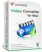 Instant 20% AnyMP4 Video Converter for Mac Deal