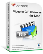 Enjoy 20% AnyMP4 Video to GIF Converter for Mac Discount
