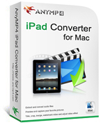 20% Savings for AnyMP4 iPad Converter for Mac Voucher