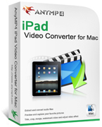 AnyMP4 iPad Video Converter for Mac 20% Discount Code