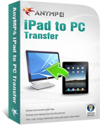 Instant 20% AnyMP4 iPad to PC Transfer Deal