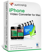 Grab 20% AnyMP4 iPhone Video Converter for Mac Voucher