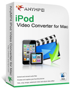 20% Deal for AnyMP4 iPod Video Converter for Mac