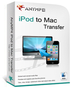 20% off AnyMP4 iPod to Mac Transfer Voucher