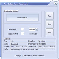Ares Galaxy Turbo Accelerator 35% Voucher