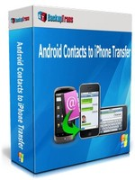 Backuptrans Android Contacts to iPhone Transfer (One-Time Usage) Voucher