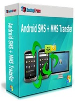 BackupTrans, Backuptrans Android SMS + MMS Transfer (Family Edition) Voucher