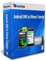 BackupTrans, Backuptrans Android SMS to iPhone Transfer (Personal Edition) Voucher Sale