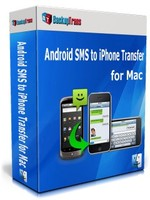 BackupTrans, Backuptrans Android SMS to iPhone Transfer for Mac (Family Edition) Voucher Deal