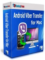 Backuptrans Android Viber Transfer for Mac (Personal Edition) Voucher