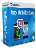 Backuptrans Android Viber to iPhone Transfer (Personal Edition) Voucher Sale