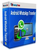 Backuptrans Android WhatsApp Transfer(Family Edition) Voucher - Instant Discount
