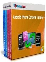 Backuptrans Android iPhone Contacts Transfer + (Family Edition) Voucher Sale - SALE