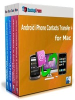 Backuptrans Android iPhone Contacts Transfer + for Mac (Family Edition) Voucher Discount