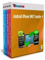 Backuptrans Android iPhone SMS Transfer + (Family Edition) Sale Voucher