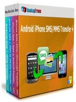 Backuptrans Android iPhone SMS/MMS Transfer + (Family Edition) Voucher