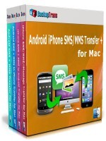 Backuptrans Android iPhone SMS/MMS Transfer + for Mac (Personal Edition) Voucher Code