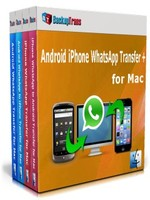 Backuptrans Android iPhone WhatsApp Transfer + for Mac(Family Edition) Sale Voucher