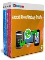 Backuptrans Android iPhone WhatsApp Transfer +(Family Edition) Sale Voucher