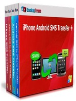 Backuptrans iPhone Android SMS Transfer + (Family Edition) Sale Voucher - Instant Discount