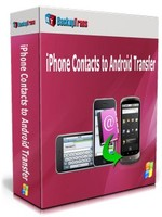 Backuptrans iPhone Contacts to Android Transfer (One-Time Usage) Voucher Sale