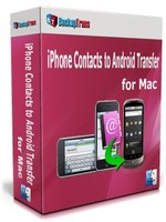 Backuptrans iPhone Contacts to Android Transfer for Mac (One-Time Usage) Voucher