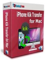 Backuptrans iPhone Kik Transfer for Mac (Family Edition) Voucher Discount