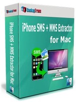Backuptrans iPhone SMS + MMS Extractor for Mac (Business Edition) Voucher Sale