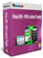 Backuptrans iPhone SMS + MMS to Android Transfer (One-Time Usage) Voucher Sale