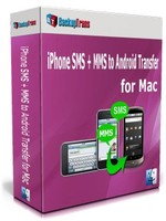 Backuptrans iPhone SMS + MMS to Android Transfer for Mac (Family Edition) Voucher Discount