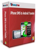 BackupTrans, Backuptrans iPhone SMS to Android Transfer (One-Time Usage) Sale Voucher