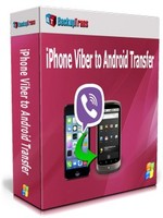BackupTrans, Backuptrans iPhone Viber to Android Transfer (Family Edition) Voucher Code