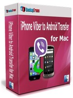 Backuptrans iPhone Viber to Android Transfer for Mac (Family Edition) Sale Voucher
