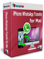Backuptrans iPhone WhatsApp Transfer for Mac (Family Edition) Voucher Sale