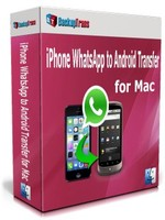 Backuptrans iPhone WhatsApp to Android Transfer for Mac(Personal Edition) Voucher Code