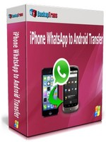 Backuptrans iPhone WhatsApp to Android Transfer(Family Edition) Voucher - Click to View