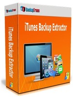Backuptrans iTunes Backup Extractor (Family Edition) Voucher Code