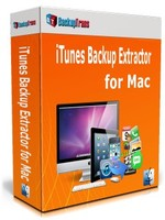BackupTrans, Backuptrans iTunes Backup Extractor for Mac (Family Edition) Voucher Discount
