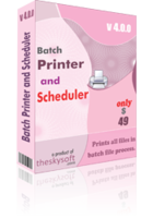 15% Batch Printer and Scheduler Voucher Code Discount