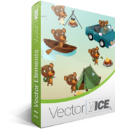 Bear Vector Pack - VectorVice Voucher Discount - SPECIAL