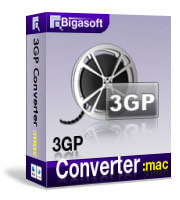 15% Voucher Code Bigasoft 3GP Converter for Mac