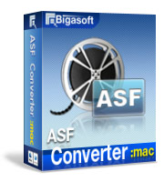 15% Savings Bigasoft ASF Converter for Mac Voucher