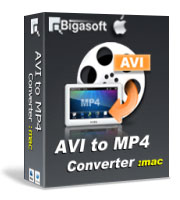 15% off Bigasoft AVI to MP4 Converter for Mac