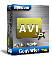 Bigasoft AVI to iMovie Converter for Mac 15% Discount