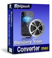 Bigasoft BlackBerry Video Converter for Mac 30% Voucher