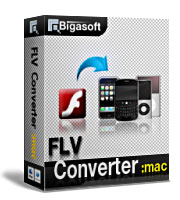 30% discount for Bigasoft FLV Converter for Mac