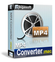 Bigasoft MP4 Converter for Mac 10% Savings