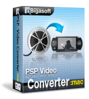 Get 10% Bigasoft PSP Video Converter for Mac Voucher