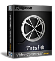 Enjoy 30% Bigasoft Total Video Converter for Mac Voucher